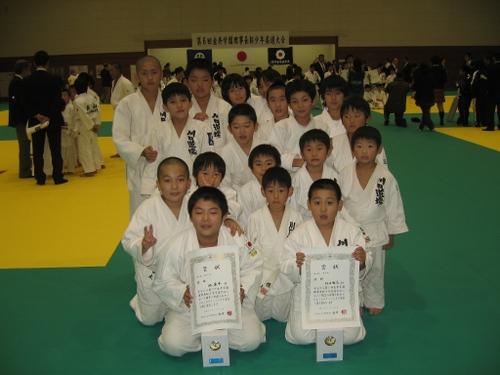 第6回金井学園理事長杯少年柔道大会