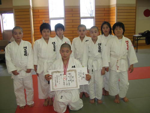 第30回福井県少年団柔道大会兼第31回全国少年柔道大会福井予選