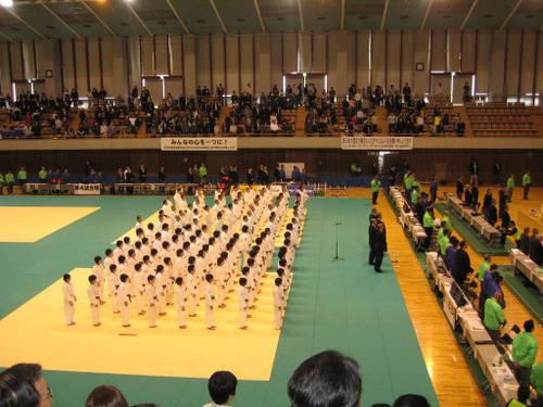 第1回全日本カデ体重別選手権大会大会