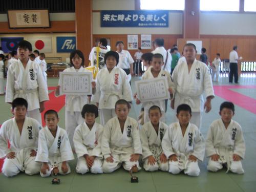 第6回小学生柔道錬成石川大会