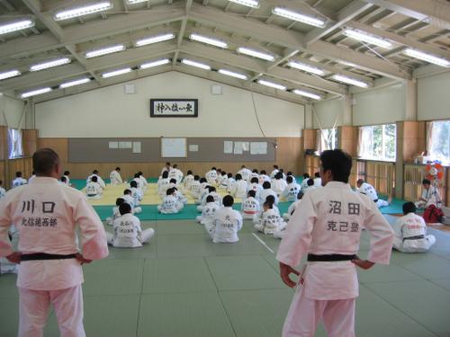 鳳雛塾、克己塾、川口道場合同練習