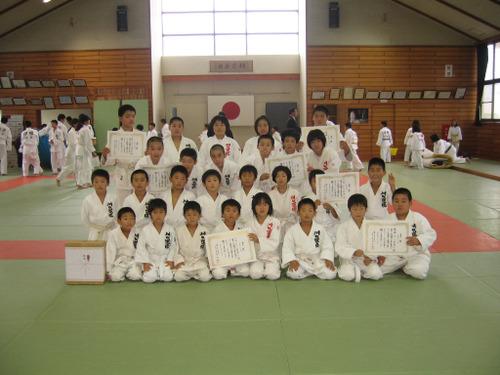 坂井町柔道団体大会