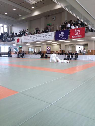 全国日整少年柔道大会形競技
