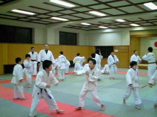 丸岡柔道スポーツ少年団出稽古